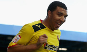 In-form striker Troy Deeney has fired Watford  to promotion to the Premier League