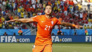PSV winger Memphis Depay is reported to be in Manchester discussing a deal