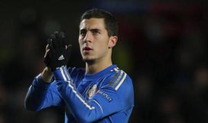 Chelsea star Eden Hazard has been crowned as PFA Player of the Year