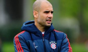 Bayern Munich boss Pep Guardiola knows his team are up against it in the Champions League