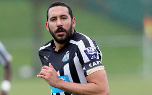 Versaile Argentinian Jonas Gutierrez scored the goal that secured Newcastle's Premier League status