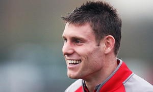 Manchester City midfielder James Milner is out-of-contract this summer at the Etihad Stadium