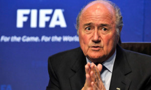 Surely it is now time that Sepp Blatter walked away as president of FIFA