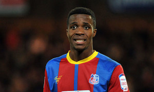 Wilfried Zaha played a key part in Palace winning 3-1 at Liverpool on Saturday