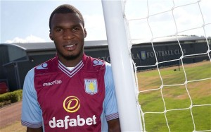 Aston Villa's Christian Benteke is reportedly subject of summer interest from Manchester United and Liverpool