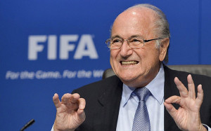 Sepp Blatter has been re-elected as FIFA president after an election on Friday