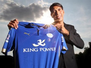Argentinian striker Leonardo Ulloa has helped Leicester move out of the relegation zone in recent weeks