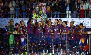 Barcelona defeated Juventus 3-1 in the Champions League final on Saturday night
