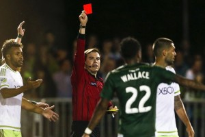 Clint Dempsey will serve a two-year US Open suspension following his red card against the Portland Timbers