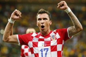 Croatian striker Mario Mandzukic has joined Italian champions Juventus