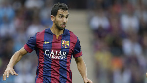 Barcelona full-back Martin Montoya could be on the move this summer