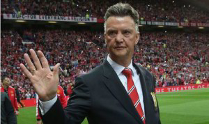 Manchester United boss Louis van Gaal has hinted at a 'surprise' signing