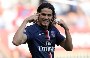 Prolific Uruguayan striker Edinson Cavani is being linked with a big money move to Manchester United