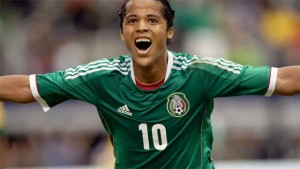 Giovani dos Santos is being linked with a move to the MLS