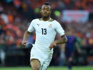 Ghana international Jordan Ayew looks set to complete a move to Premier League Aston Villa