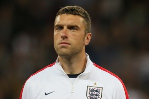 Liverpool striker Rickie Lambert looks surplus to requirements at Anfield