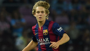 West Ham are believed to be interested in signing Barcelona youngster Alen Hililovic