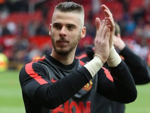 Manchester United boss Louis van Gaal has left 'keeper David de Gea out in the cold