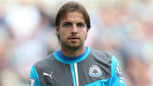 Newcastle 'keeper Tim Krul produced a string of saves to help the Magpies grab a goalless draw with Manchester United