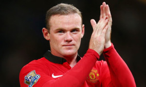 Striker Wayne Rooney scored a hat-trick in Manchester United's 4-0 victory over Club Brugge in their Champions League play-off second leg
