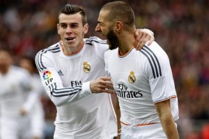 Forwards Gareth Bale and Karim Benzema look set to stay in the Spanish capital this summer