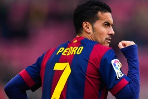 Barcelona winger Pedro is reportedly in England to complete a move to Premier League champions Chelsea