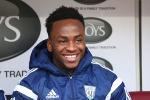 West Brom striker Saido Berahino is being linked with a move to Tottenham