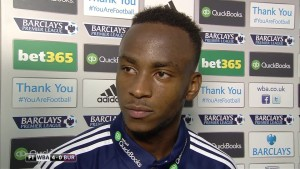 Manchester City are being linked with a move for West Brom's promising young striker Saido Berahino