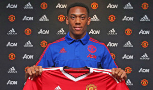 Manchester United spent £36million on young French striker Anthony Martial on transfer deadline day