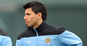 Manchester City's Sergio Aguero is an injury doubt ahead of the Citizens visit to Juventus in the Champions League