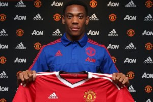 Young French striker Anthony Martial has made a bright start to his career at Manchester United