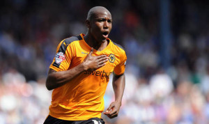 Wolves striker Benik Afobe is being linked with a move to Midlands rivals Aston Villa