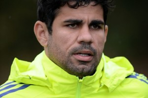 Chelsea striker Diego Costa could miss Saturday's game with Liverpool