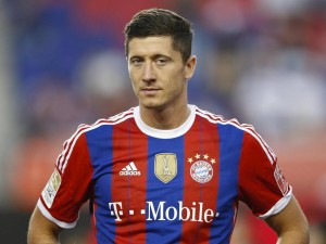 Arsenal come up against Bayern Munich's in-form striker Robert Lewandowski tonight in the Champions League