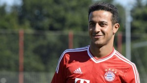 Thiago Alcantara was the creative force behind Bayern Munich's 5-1 victory over Arsenal on Wednesday night