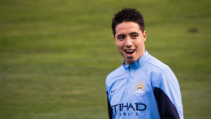Manchester City's French midfielder Samir Nasri is being linked with a move to Juventus